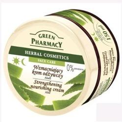 Green Pharmacy Krem Do Twarzy Wzmacniający Aloes 150 ml