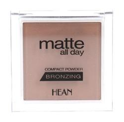HEAN Matte All Day Bronzing - Puder Brązujący Matowy - 506 Bahama Sun