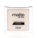 HEAN Matte All Day Fixing Puder utrwalający transparentny - 501 Translucent