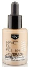 HEAN Never Be Better Coverage Płynny podkład mocno kryjący 101 Creation Natural 30ml