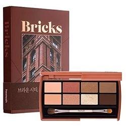 HEIMISH Eye Palettte Brick Brown Paleta 8 cieni do powiek 7,5g