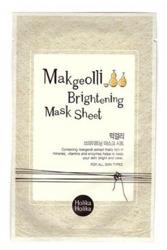 Holika Holika Makgeolli Brightening Mask Sheet -  Rozjaśniająca maska w płachcie
