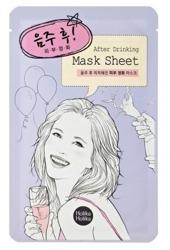 Holika Holika Mask Sheet After Drinking  - Odświeżająco-oczyszczająca maseczka w płachcie 18ml