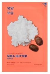 Holika Holika Mask Sheet Pure Essence Shea Butter - Maseczka do twarzy w płachcie z ekstraktem z masła Shea 20ml