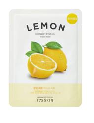 ITS Skin The Fresh Mask Sheet Lemon Rozświetlająca maska do twarzy w płachcie 20g