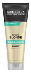 John Frieda Sheer Blonde Highlight Activating Shampoo Szampon do włosów blond 250ml