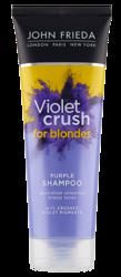 John Frieda Violet Crush for Blondes Purple Shampoo Szampon niwelujący żółty odcień włosów blond 250ml