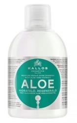 KALLOS ALOE VERA Silnie nawilżający szampon do włosów 1000ml