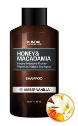 KUNDAL Hair Shampoo Szampon do włosów AMBER VANILLA 100ml