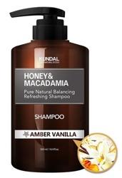 KUNDAL Hair Shampoo Szampon do włosów AMBER VANILLA 500ml