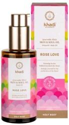 Khadi Skin&Soul odżywczy olejek do ciała Rose Love KHA-167 100ml