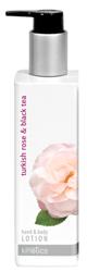 Kinetics Balsam hand&body Turkish rose&tea - Odżywczy balsam do rąk i ciała 250ml