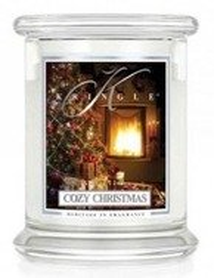 Kringle Candle Classic Cozy Christmas Słoik świeca średnia 411g