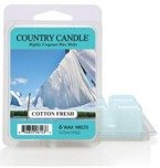 Kringle Country Candle 6 Wax Melts Wosk zapachowy -  Cotton Fresh
