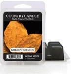Kringle Country Candle 6 Wax Melts Wosk zapachowy -  Golden Tabacco