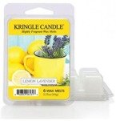 Kringle Country Candle 6 Wax Melts Wosk zapachowy - Lemon Lavender
