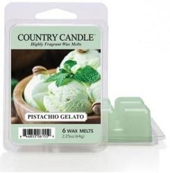 Kringle Country Candle 6 Wax Melts Wosk zapachowy - Pistachio Gelato