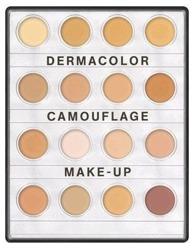 Kryolan Dermacolor Camouflage Mini Palette FAIR - Mini paletka 16 korektorów do twarzy