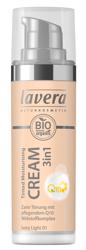 LAVERA Tinted Moisturising Cream 3in1 With Q10 Krem tonujący z koenzymem Q10 01 Ivory light 30ml