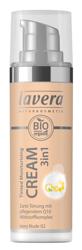 LAVERA Tinted Moisturising Cream 3in1 With Q10 Krem tonujący z koenzymem Q10 02 Ivory nude 30ml