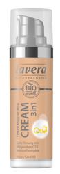 LAVERA Tinted Moisturising Cream 3in1 With Q10 Krem tonujący z koenzymem Q10 03 Honey sand 30ml