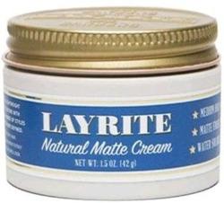 LAYRITE Natural Matte Cream Pasta do włosów nadająca matowe wykończenie 42g
