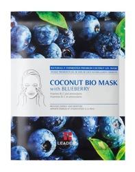 LEADERS Coconut Bio Mask with Blueberry Energetyzująca maska w płachcie 30ml