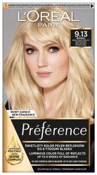LOREAL PARIS RECITAL PREFERENCE Farba do włosów M9.13 Jasny piaskowy blond