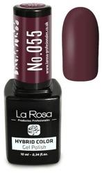 La Rosa Gel Polish Hybrid Color Lakier hybrydowy 055 10ml