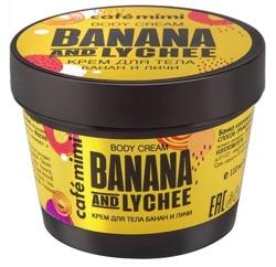 Le Cafe Mimi Krem do ciała Banana&Lychee 110ml