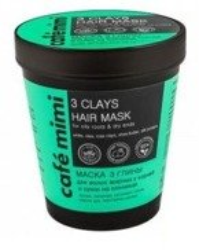Le Cafe Mimi Maska do włosów 3 glinki 220ml