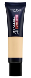 Loreal Infallible 24H-Matte Cover Długotrwały podkład matujący 135 radiant vanilla 30ml