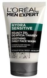 Loreal Men Expert Hydra Sensitive Kojący żel do mycia twarzy 100ml