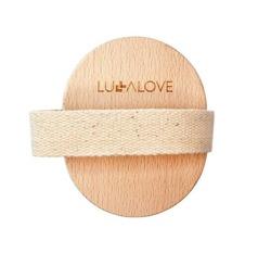 Lullalove Okrągła szczotka tampico do masażu na sucho