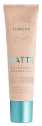 Lumene  Matte Control Podkład matujący 2 Soft Honey 30ml