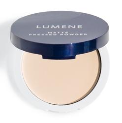 Lumene Matte Pressed Powder Prasowany puder matujący 0 Translucent