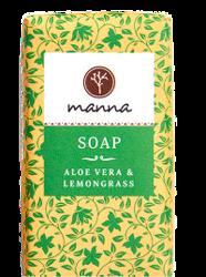 MANNA mydło w kostce Aloe Vera&Lemongrass 90g