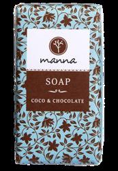 MANNA mydło w kostce Coco&Chocolate 90g