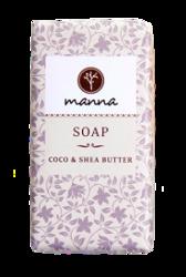 MANNA mydło w kostce Coco&Shea Butter 90g