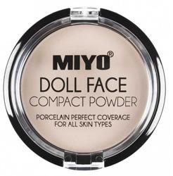 MIYO DOLL FACE COMPACT POWDER puder matujący NO. 01 Vanilla
