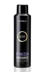 MONTIBELLO Decode Finish Radiance Spray Intensywnie nawilżający spray nabłyszczający (bez utrwalenia) 200ml