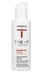 MONTIBELLO TREAT Naturtech Keratin Balm Balsam bez spłukiwania do włosów zniszczonych 150ml