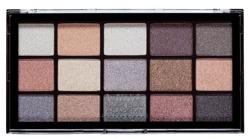 MUA Eyeshadow Palette FROSTED GLEAM Paletka 15 cieni do powiek
