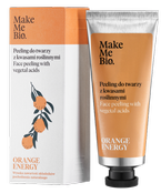 Make Me Bio Orange Energy peeling do twarzy z kwasami roślinnymi 40ml