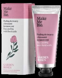 MakeMeBio Garden Roses peeling do twarzy z kwasami kwiatowymi 40ml
