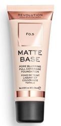 Makeup Revolution Matte Base Foundation Podkład matujący F0,5 28ml