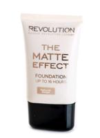 Makeup Revolution Matte Foundation - Podkład matujący 25 ml Natural Beige