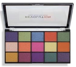 Makeup Revolution Re-Loaded Palette Passion for Colour Paleta cieni do powiek