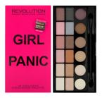 Makeup Revolution Salvation Palette - Paleta 18 cieni do powiek Girl Panic