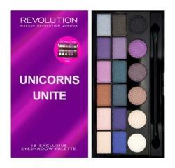Makeup Revolution Salvation Palette - Paleta 18 cieni do powiek Unicorn Unite